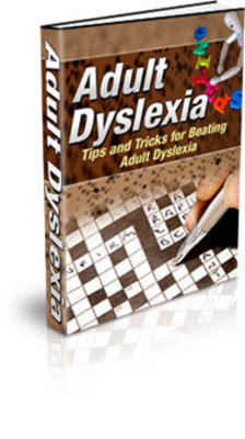 Product picture Adult Dyslexia - Now learn some of the most useful tricks!