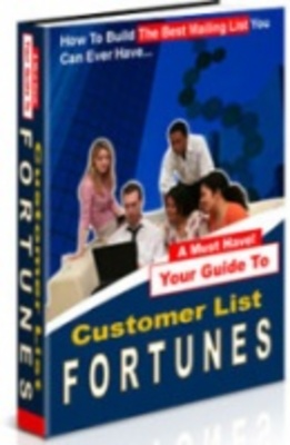 Product picture Customers list fortunes - Find Your Success Online!